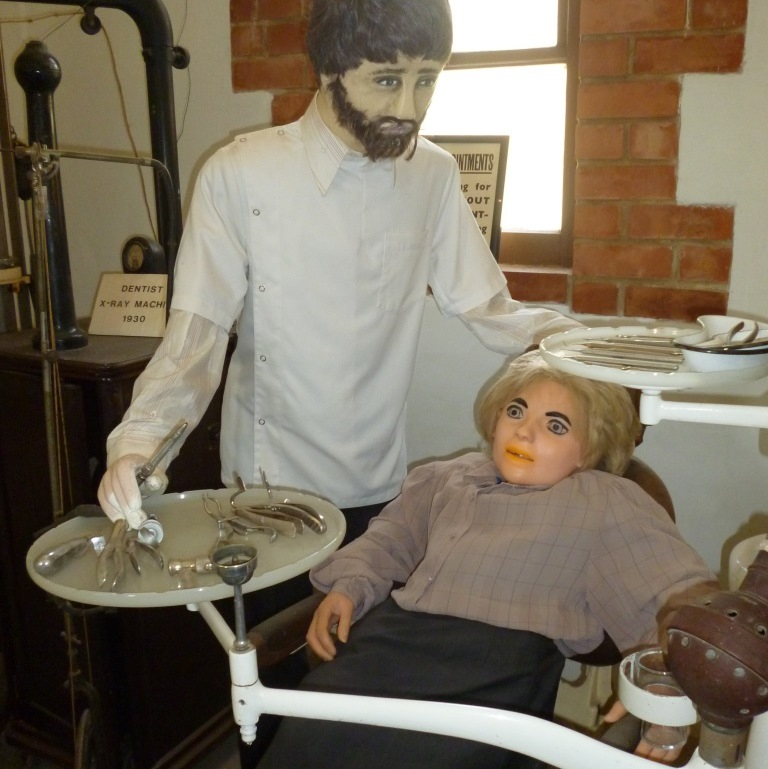 Dental display - Loxton Historical Village