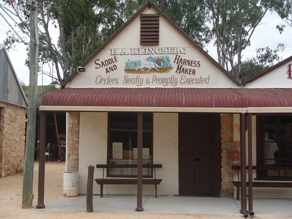 Saddlery Shop - The Village - Historic Loxton