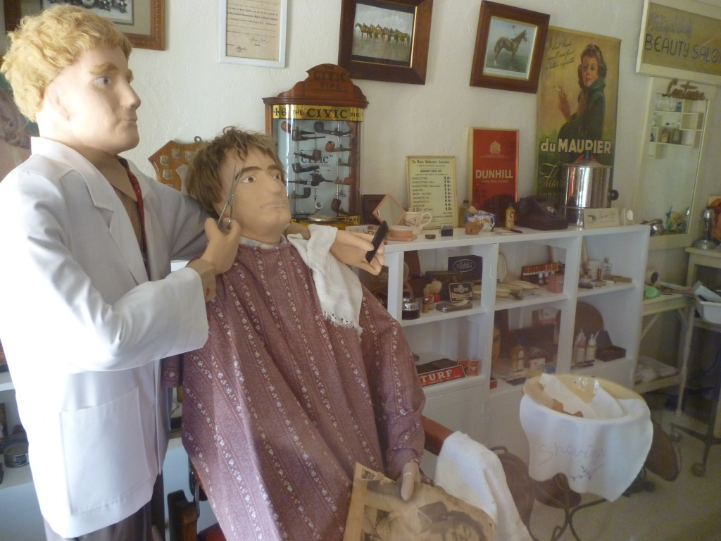 Barber Shop - The Village - Loxton Historical Village