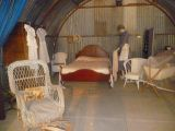 Inside the Nissen Hut on display at The Village - Historic Loxton